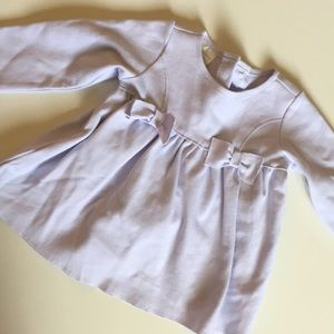 WORN ONCE- 12mo lavender dress